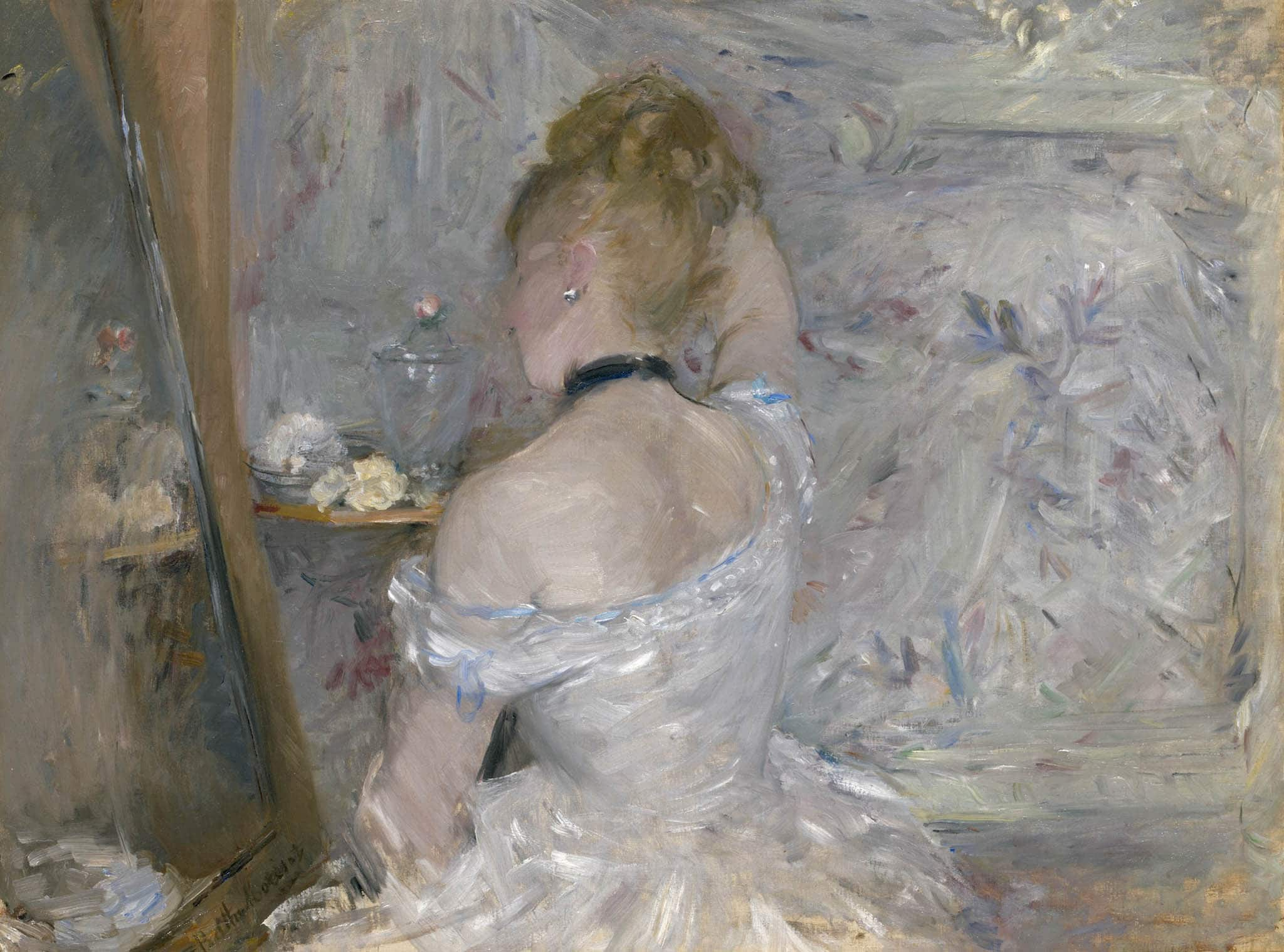 Berthe Morisot, Woman at Her Toilette