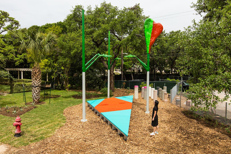 Jessica Stockholder installation