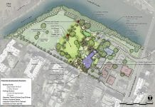 Butler Shores site plan for new Dougherty Arts Center