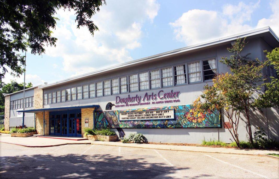 Dougherty Arts Center, on Barton Springs Road,