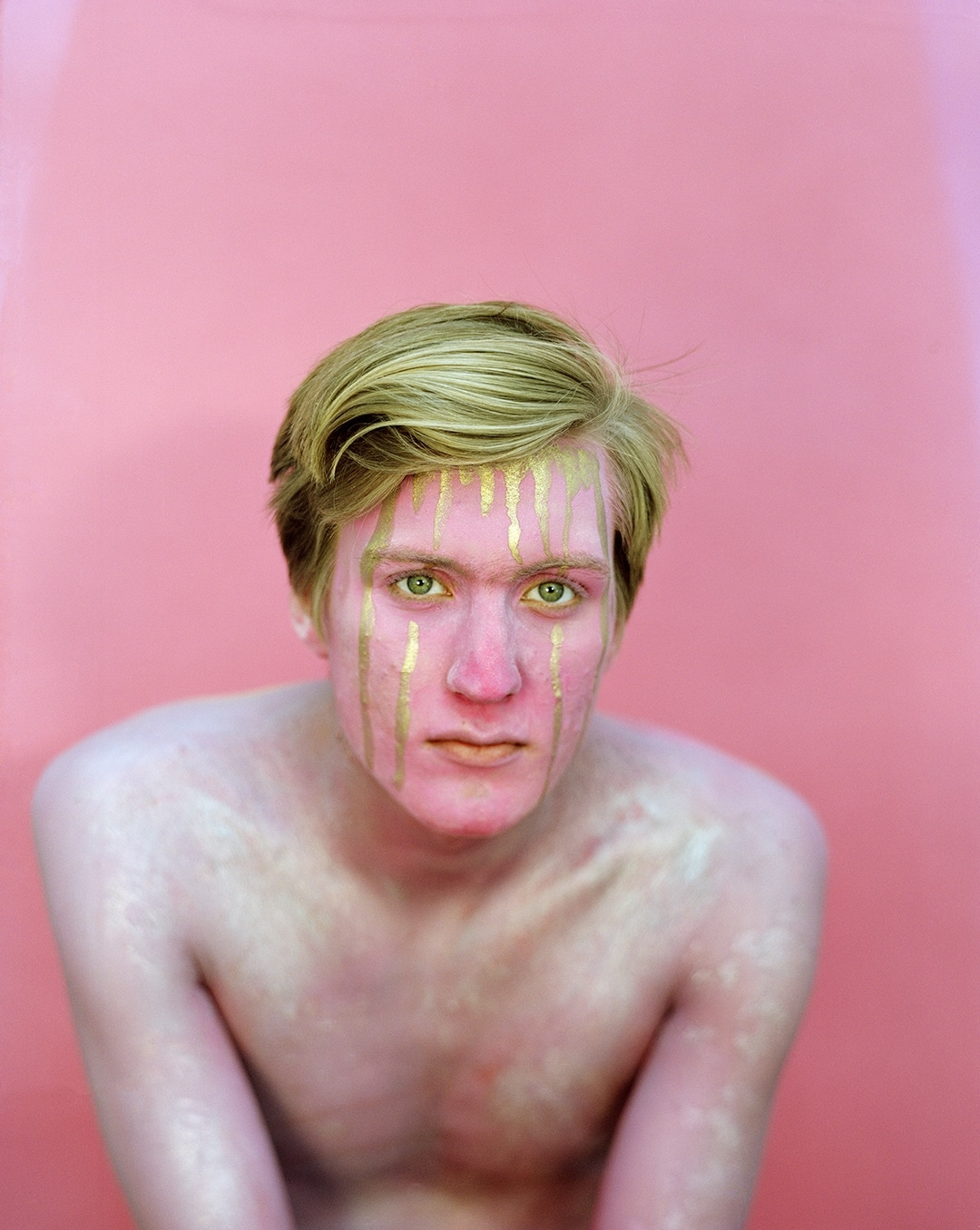 Christa Blackwood 'Boy Play: Blake in Pink,""