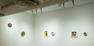 "Installation view of ""Bruisers,"" Daniel Rios Rodriguez"