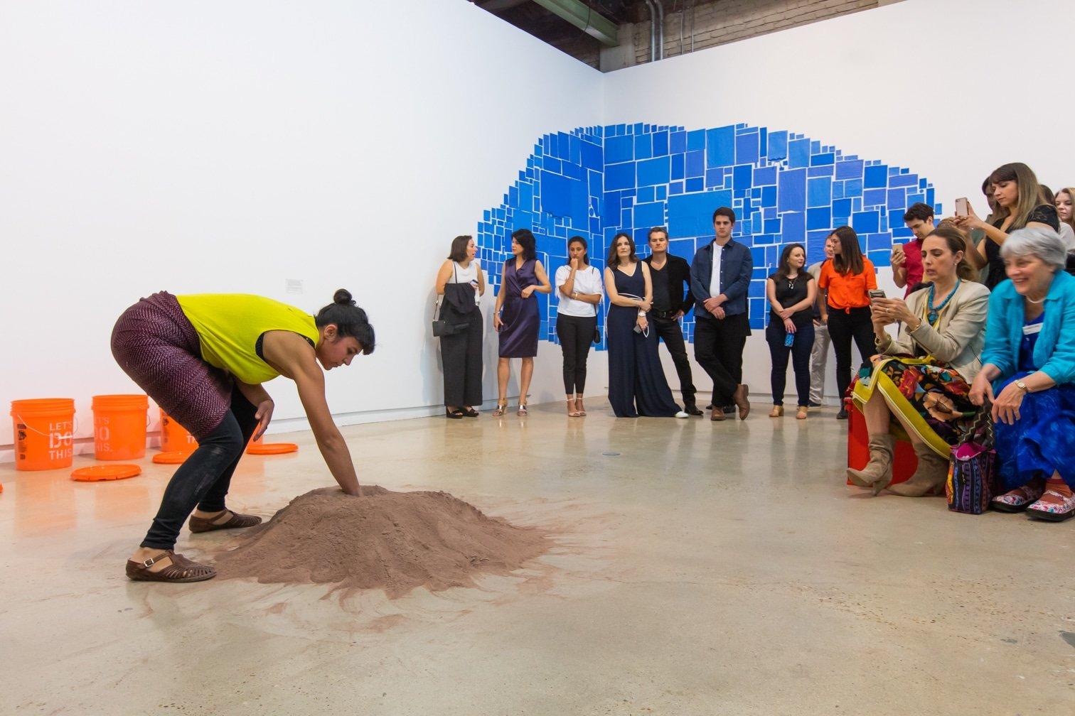 Performance view (featuring Marcela Calderón Bony)