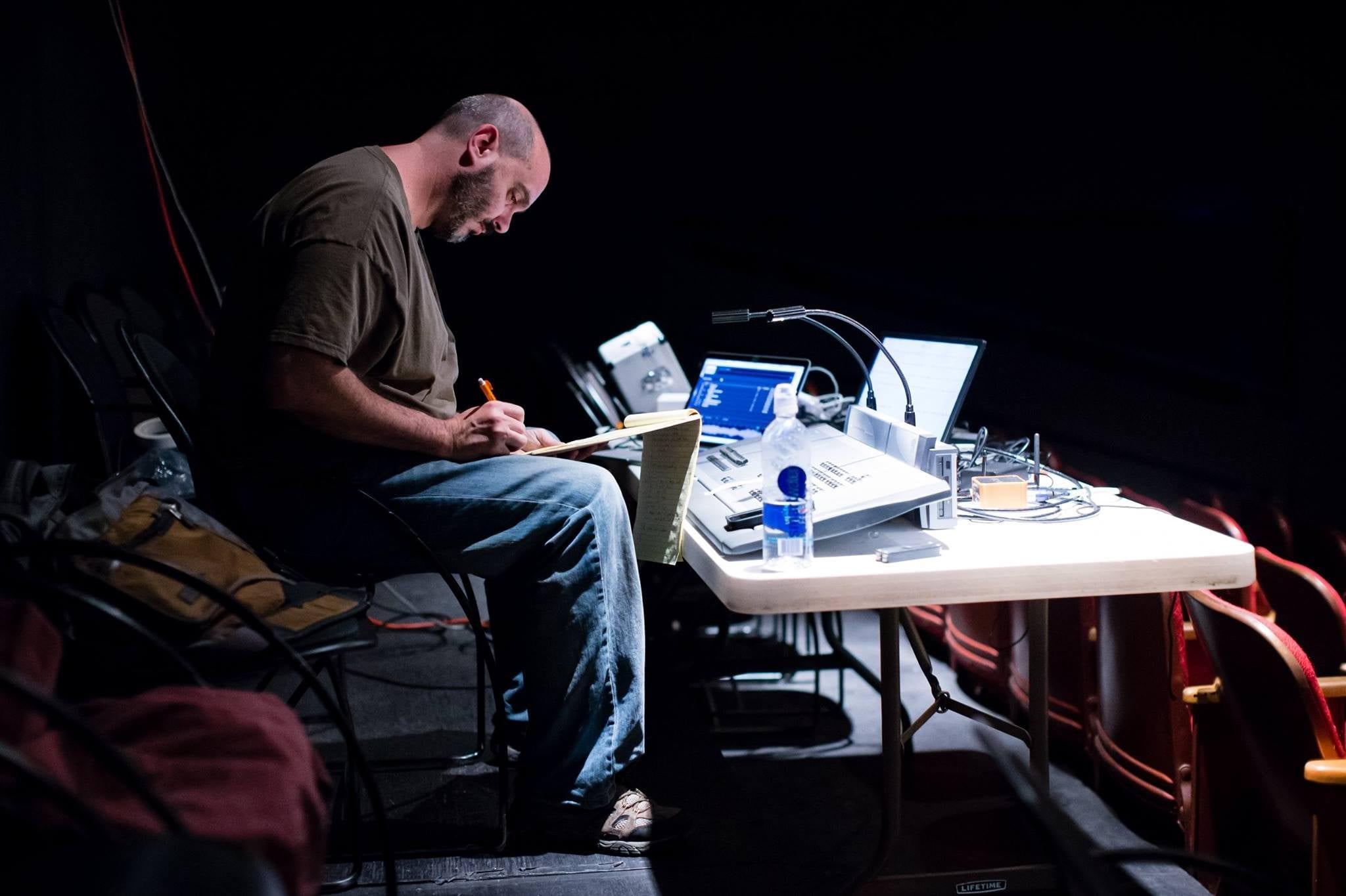 Stephen Pruitt at work