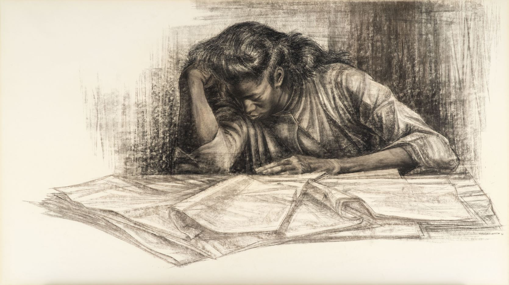 """Charles White, """"Awaken from the Unknowing,"""""""