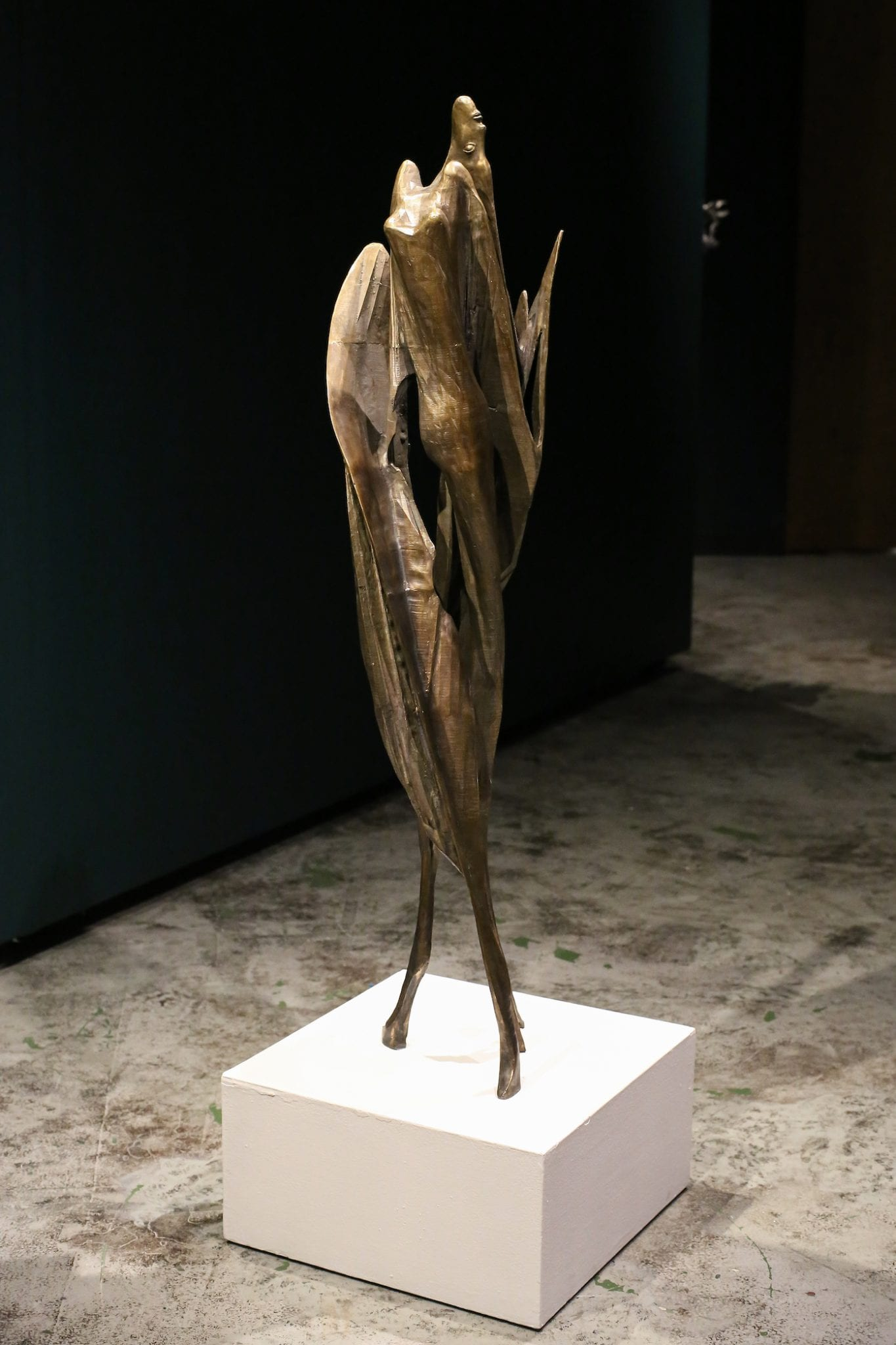 """Shana Hoehn, """"Moth emerges from Lady-jet cocoon"""""""