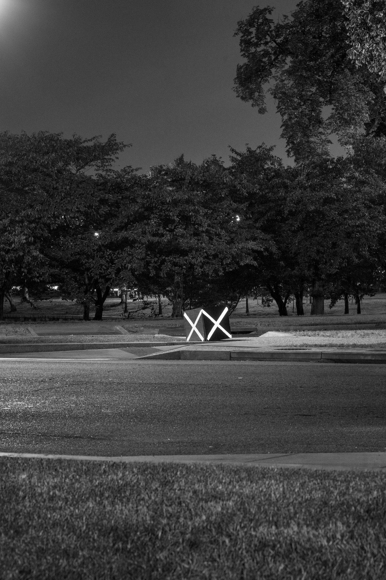 "Mike Osborne, ""XX / National Mall,"""