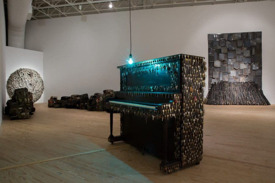 """Installation view from """"Nari Ward: We the People."""""""