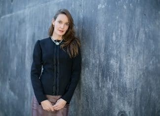 Vanessa Davidson, the newly appointed Latin American curator at the Blanton Museum of Art.