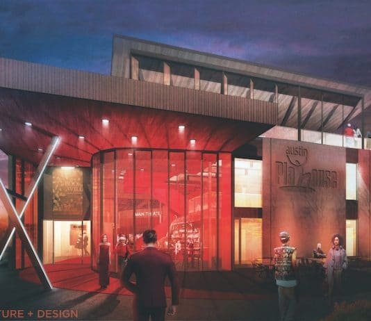 Rendering of the new Austin Playhouse