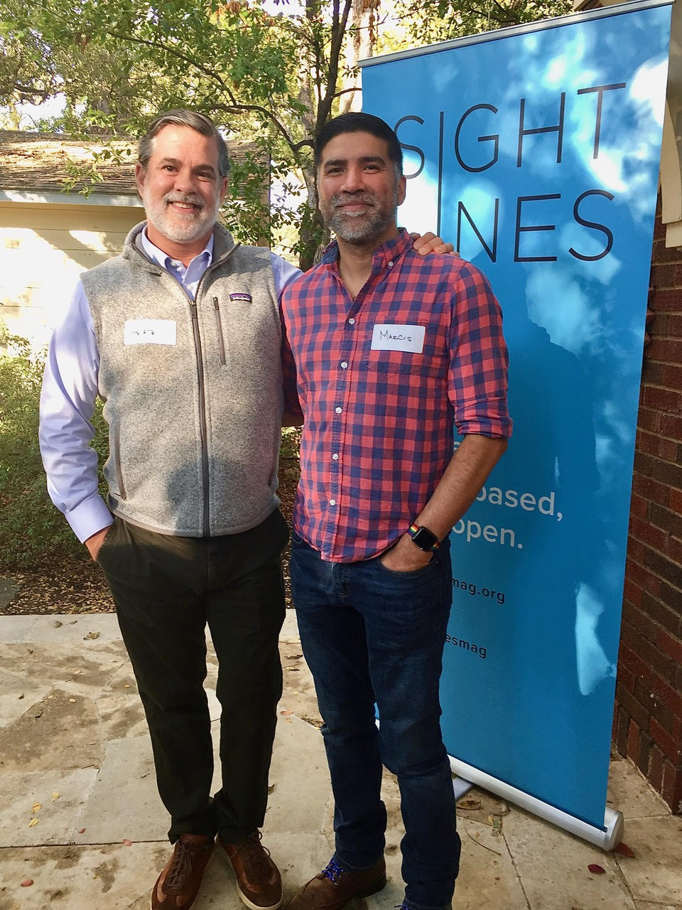 Sightlines advisory council member, Heath Riddles,