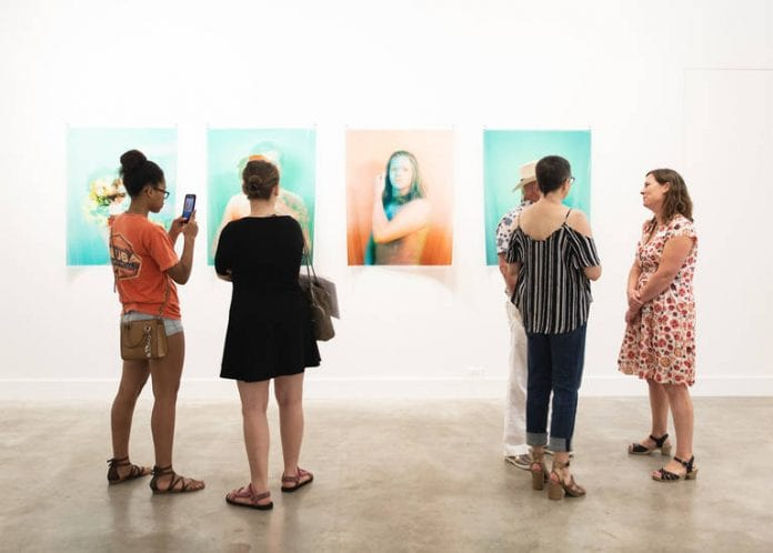 The 2018 Crit Group exhibition at GrayDuck Gallery with Christa Blackwood's