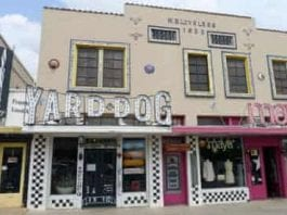 Since 1995, Yard Dog Art Gallery has occupied half of the W.B. Loveless building on South Congress Avenue in Austin.