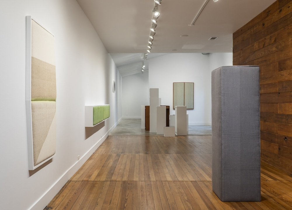 "Installation view of ""Ana Esteve Llorens: Space is a Reality"" at Grayduck Gallery, Jan. 11-Feb. 23, 2020. Photo courtesy the artist."