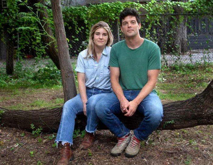Tamara Johnson and Trey Burns of Sweet Pass Sculpture Park