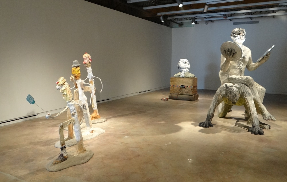 Installation view of Procession