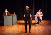"""""""A Fistful of Trespassing"""" by Minghao Tu, directed by Anna Skidis Vargas Photo by Lawrence Peart"""