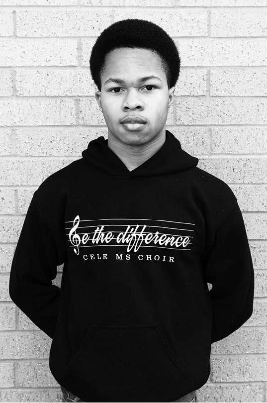 JaRohn Keyes, Jr., age 14. Photo by Tyeschea West.