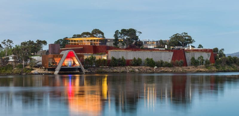The Museum of Old and New Art in Hobart, Tasmani