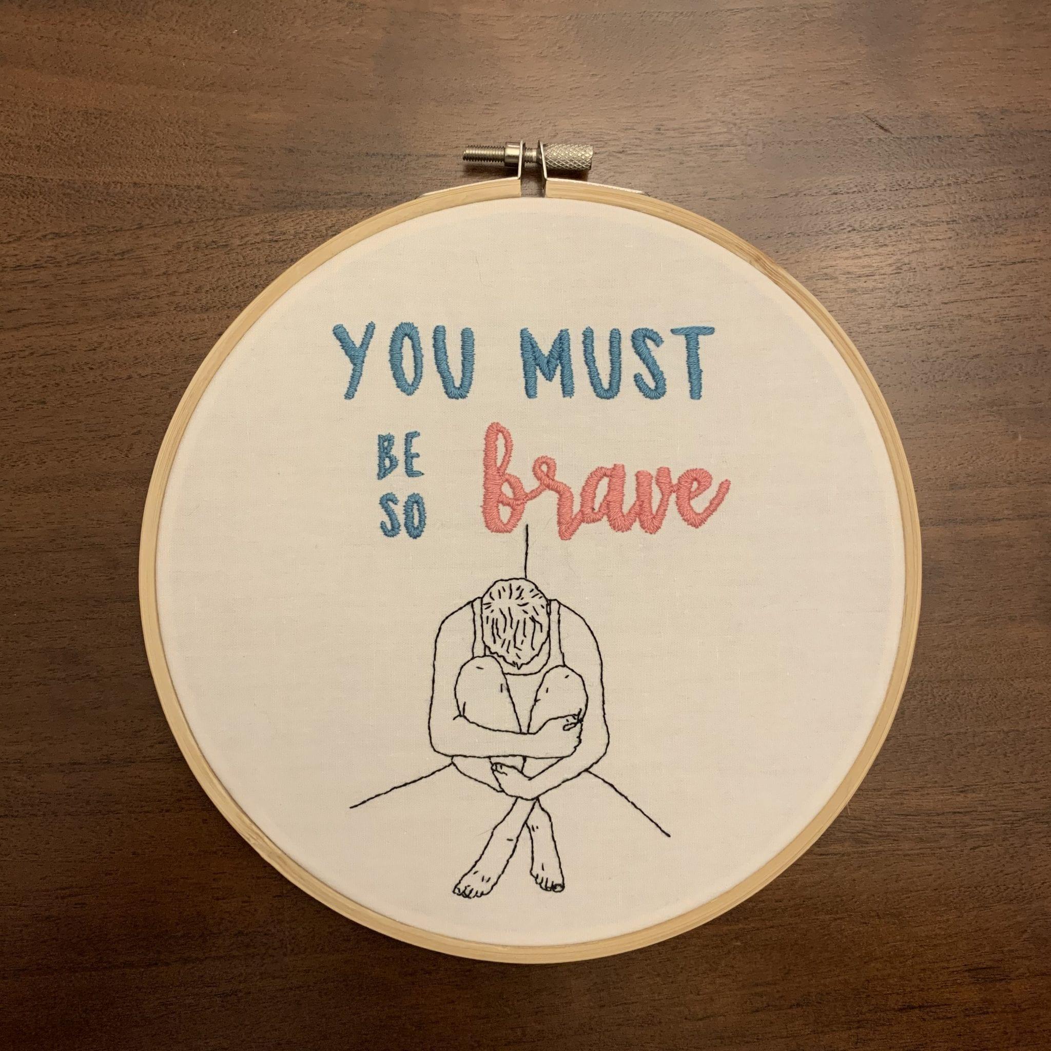 """Jessica Gritton, """"Brave"""""""
