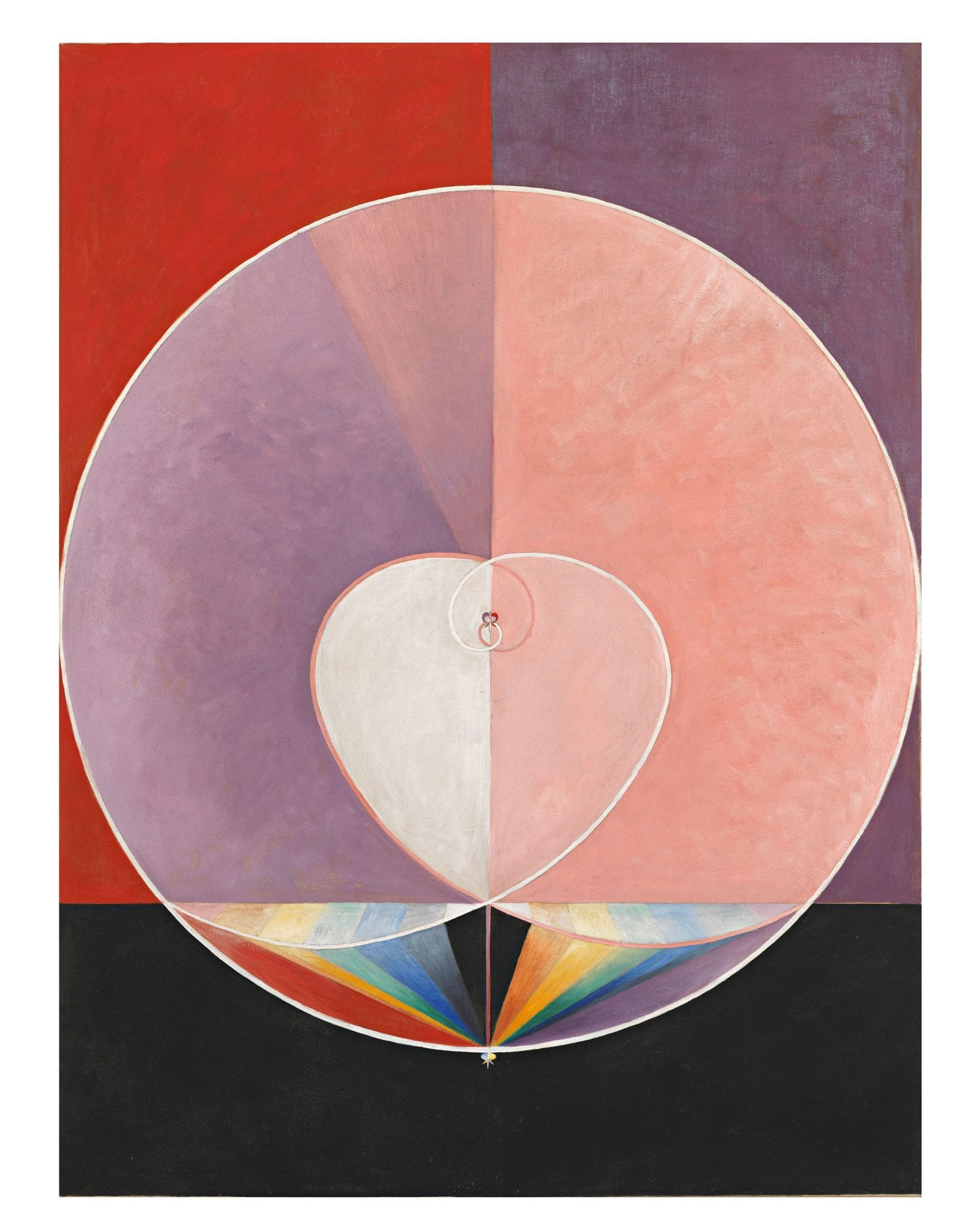 """Hilma af Klint's painting """"The Dovell"""""""