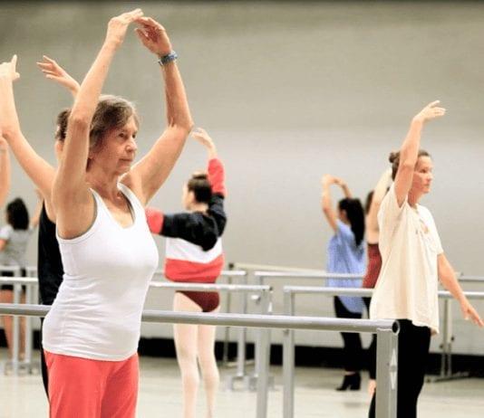 Ballet Austin fitness class
