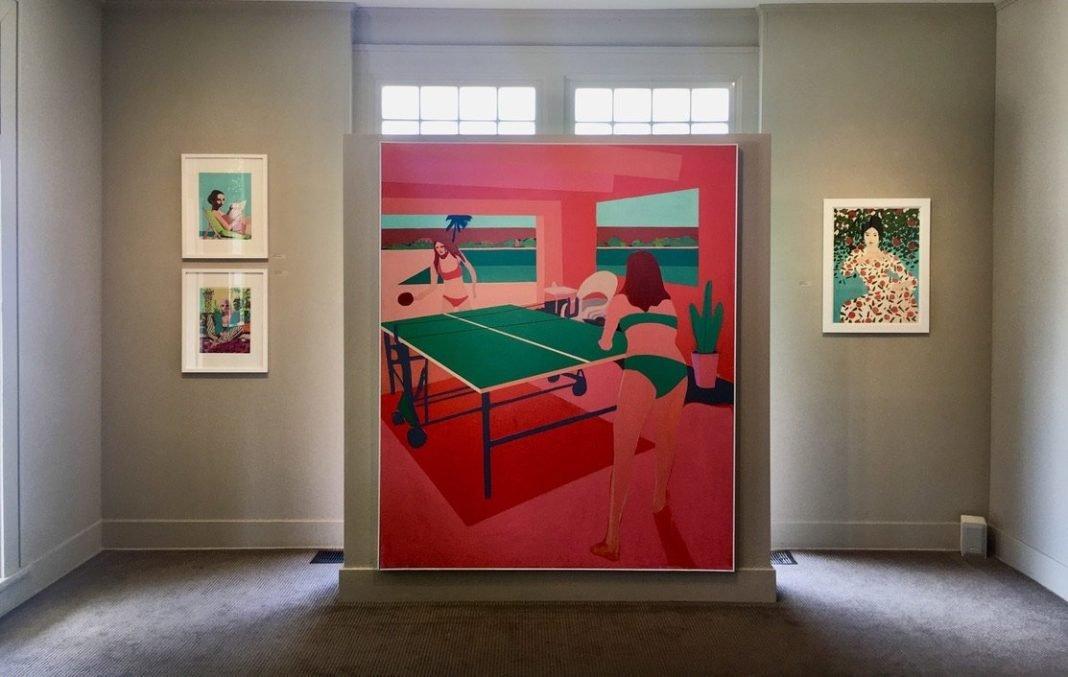 Patrick Puckett's solo exhibition at Wally Workman Gallery