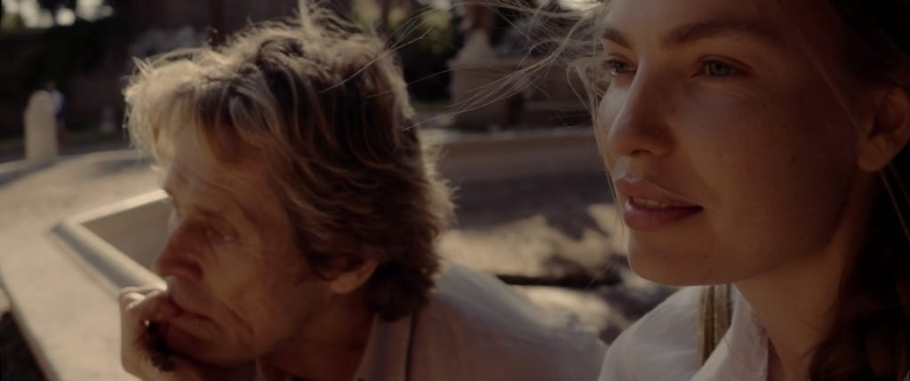 Willem Dafoe and Cristina Chiriac star in
