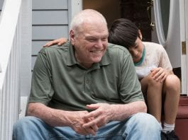 "Brian Dennehy and Lucas Jaye star in the touching ""Driveways."" Credit: FilmRise"