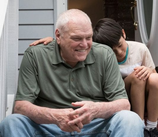 """Brian Dennehy and Lucas Jaye star in the touching """"Driveways."""" Credit: FilmRise"""