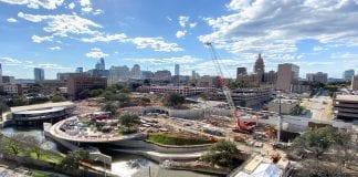 Waterloo Park Conservancy's 5,000-capacity outdoor Moody Amphitheater set to open in 2021.