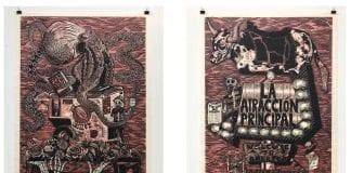 Ben Munoz woodcut prints