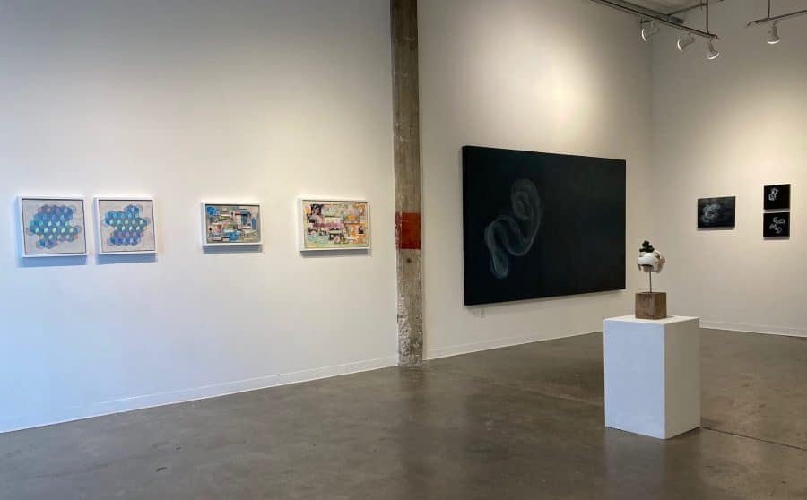 Installation view ICOSA Collective