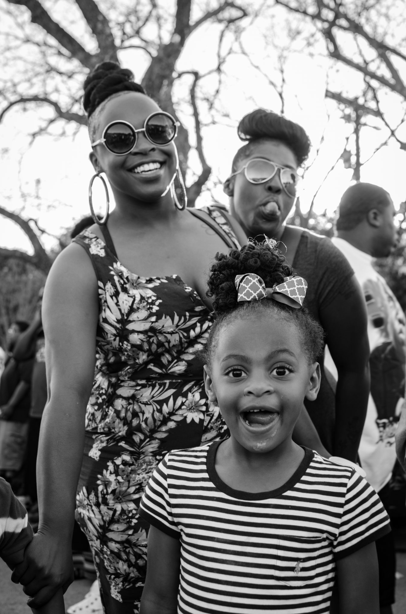 "Cindy Elizabeth, ""Family at a gathering during the Texas Relays, Austin, Texas."" 2016. Digital photograph. @Cindy Elizabeth"