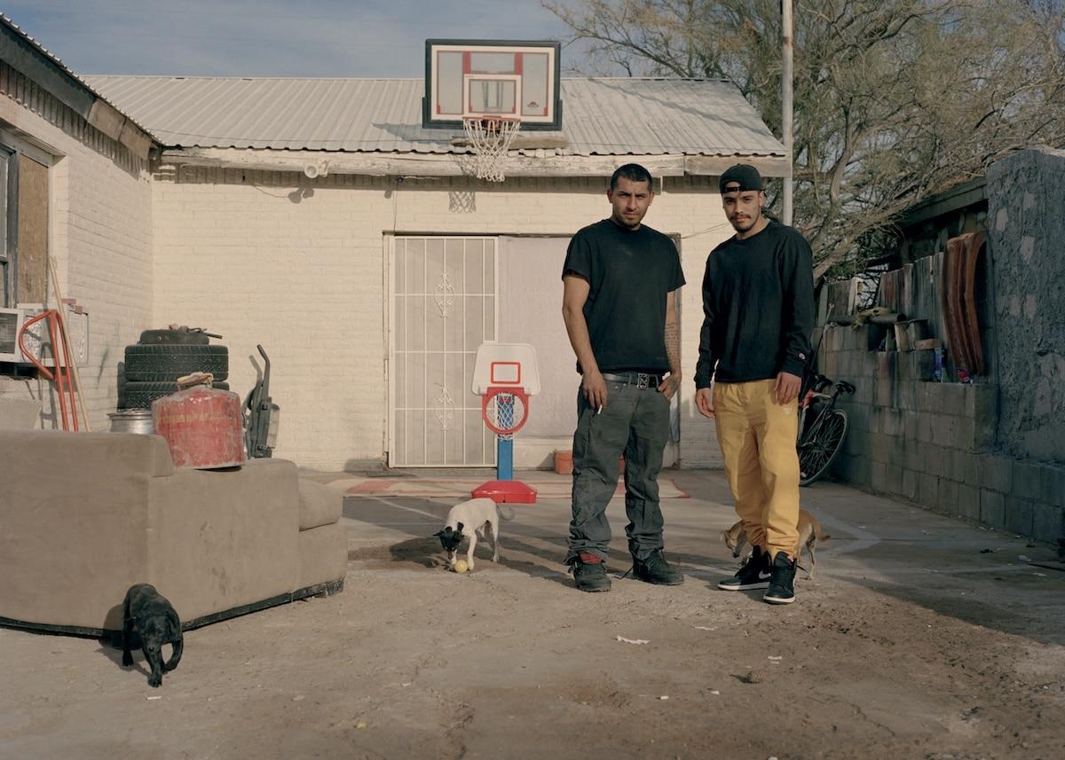 Hope Mora. David Chavez and Zach Padilla