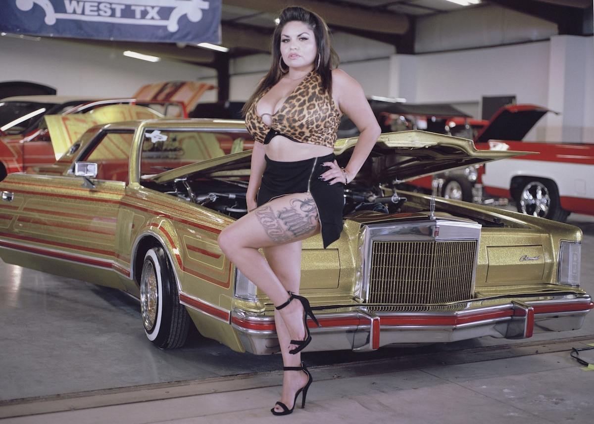 Hope Mora, West Texas Car Show Model, 2019