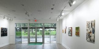 The new location of gallery Martha's Contemporary is in a 1920s storefront on Guadalupe Street in Hyde Park. Photo by Cody Bjornson, courtesy of Martha's Contemporary