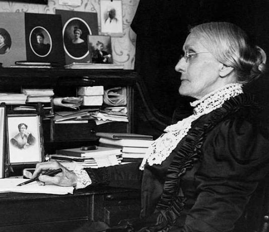Portrait of Susan B. Anthony (1820-1906). SOURCE: CORBIS/Corbis via Getty Images