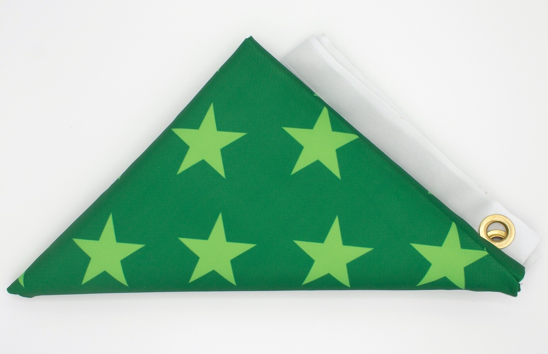 Untitled (a flag for John Lewis)