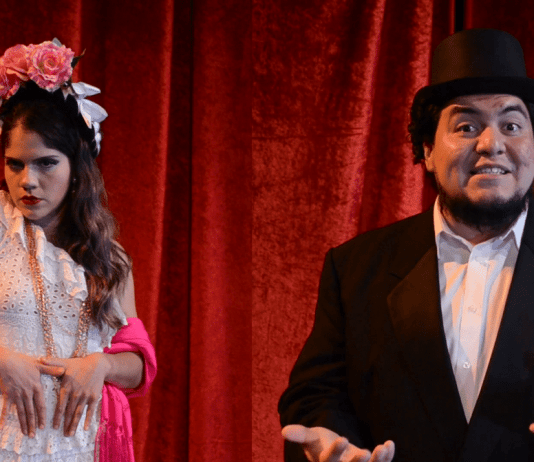 Jessica Peña and Jesús Valles in Peña's 'Mexico Expropriated'