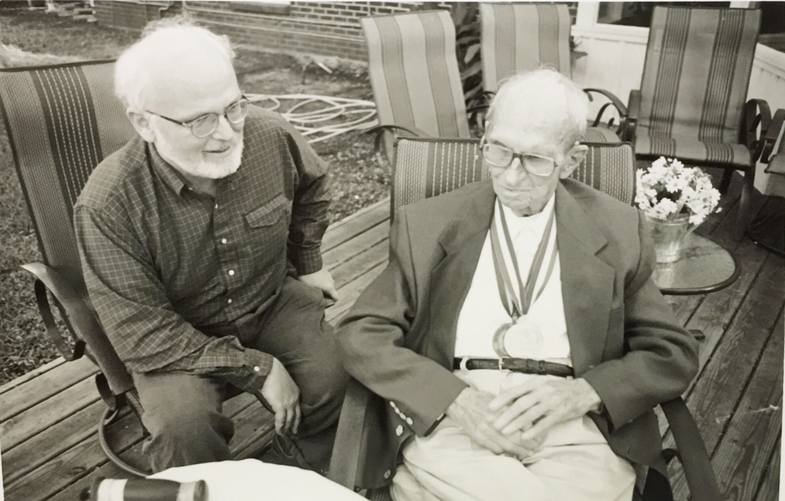 Jim Magnuson and James Michener