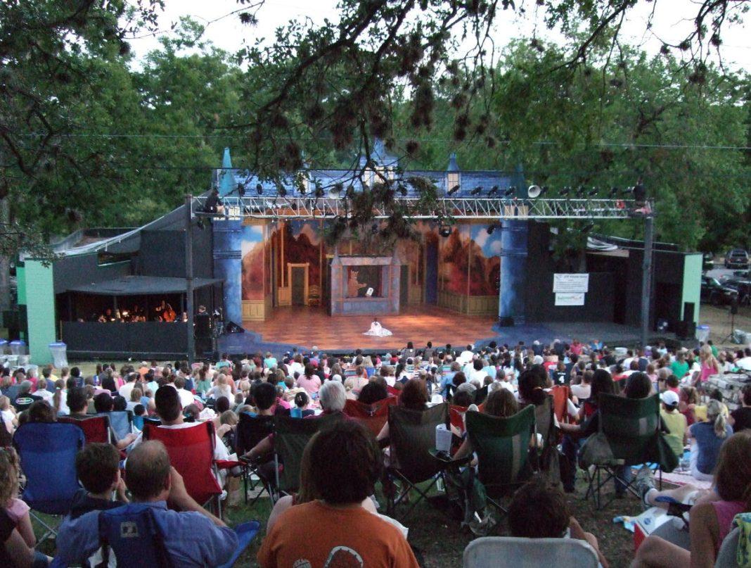 Summer musical Zilker Park