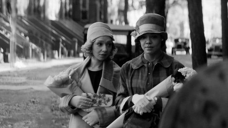 Ruth Negga and Tessa Thompson appear in Passing by Rebecca Hall, an official selection of the U.S. Dramatic Competition at the 2021 Sundance Film Festival. Courtesy of Sundance Institute | photo by Edu Grau.