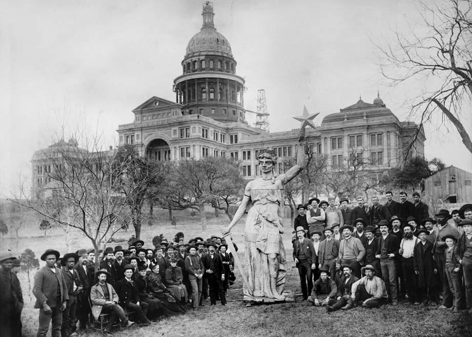 Goddess of Liberty statue