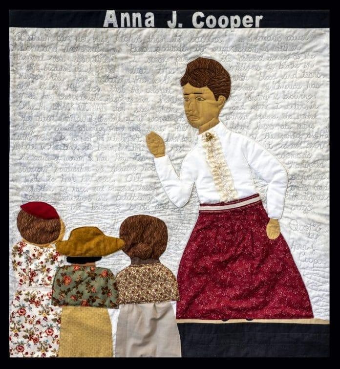 Anna J Cooper quilt