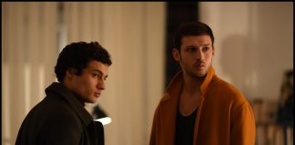 """Emile (Quentin Dolmaire), left, and Yoav (Tom Mercier) in """"Synonyms."""" Courtesy of Kino Lorber."""