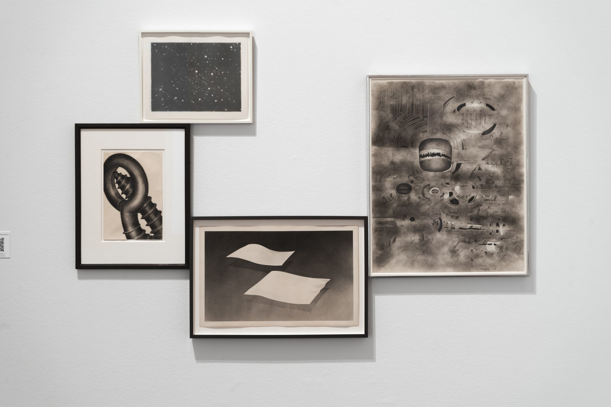 """Installation view of """"Drawn: From the Collection of Jack Shear,"""" Blanton Museum of Art, The University of Texas, March 27, 2020–August 22, 2021"""