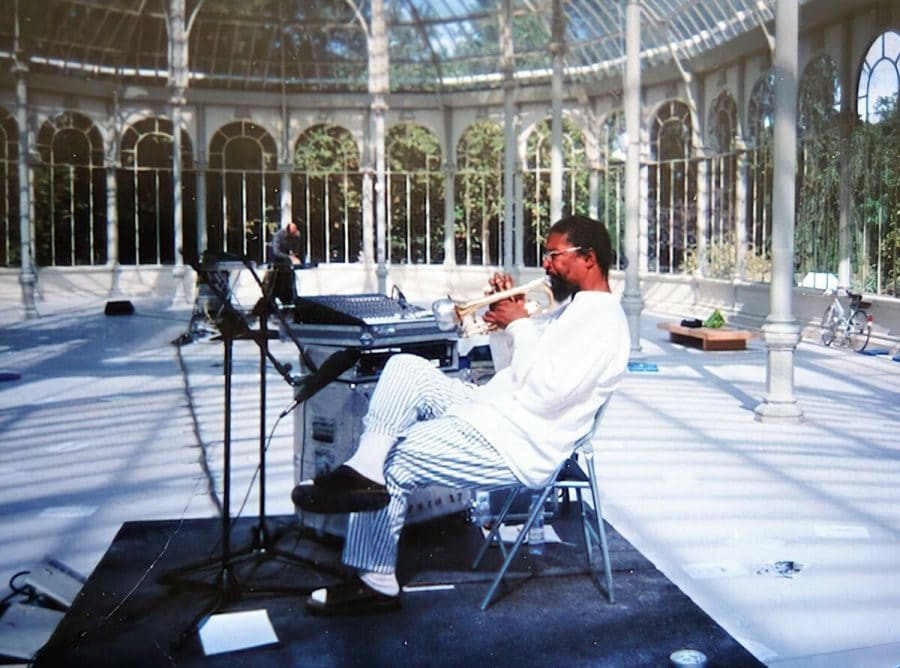 Lawrence D. 'Butch' Morris at Palacio de Cristal, Madrid in 2000. Photo by J.A. Deane