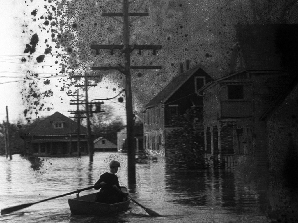 """Film still from """"The Great Flood"""""""