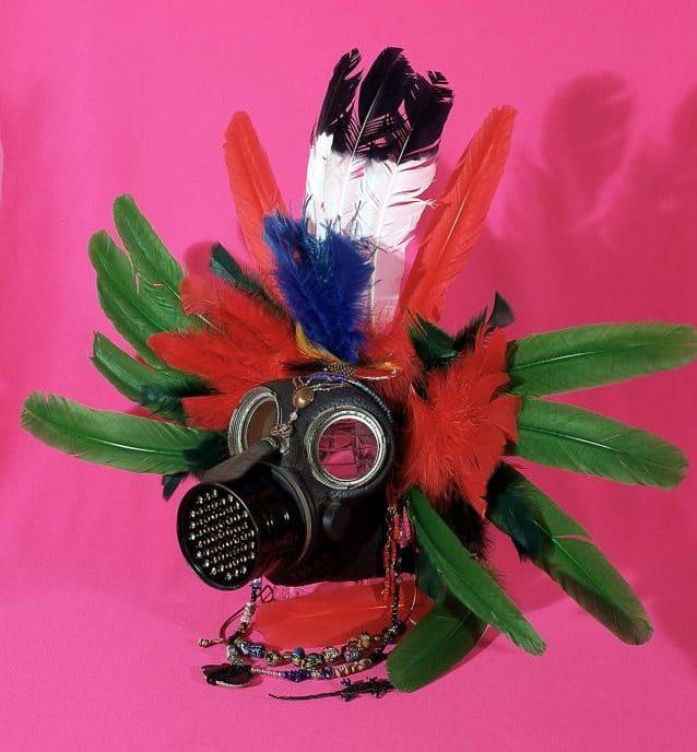 """Petrocuatl"" (1988) by the artist Celia Álvarez Muñoz"